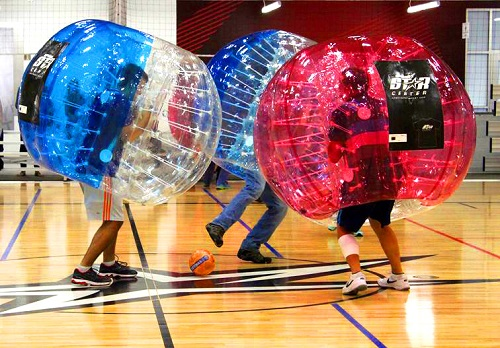 bubble ball parties