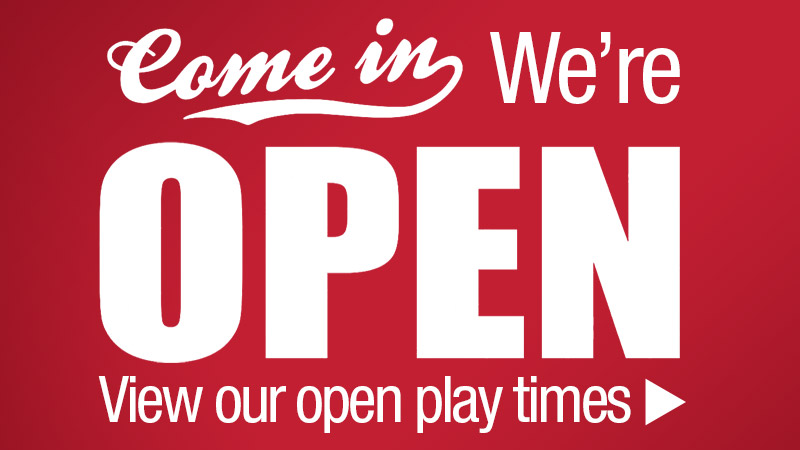 Open Play Times
